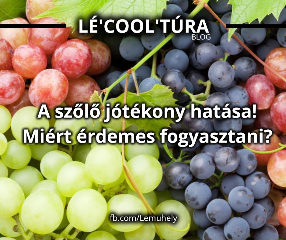A szőlő jótékony hatása! Miért érdemes fogyasztani?